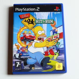 The Simpsons Hit & Run Ps2