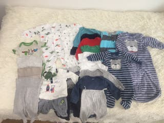 Lote ropa Carters bebé niño 0-3 meses