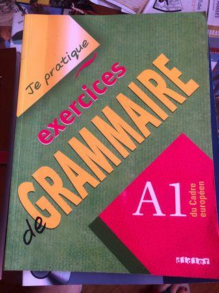 Libro de ejercicios de gramática en francés A1