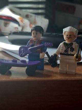 Lego de marty mcfly y Doc de Back to the Fu