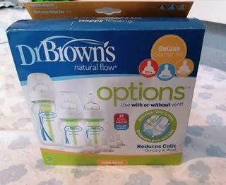 Pack de biberones Dr. Brown