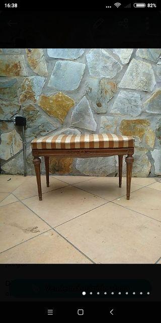 Descalzadora de madera antigua siglo XIX labrada