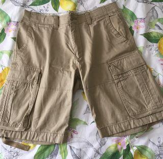Pantalón corto bolsillos