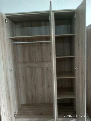mueble armario de 3 puertas nuevo