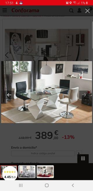 Mesa Salón Comedor Diseño 180cm
