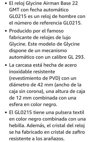 Glycine Airman Phantom 42mm GMT