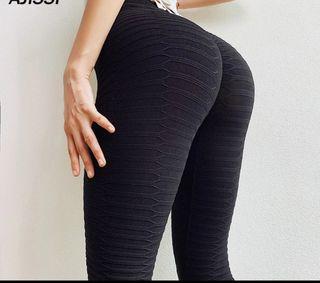 Push up leggings negro