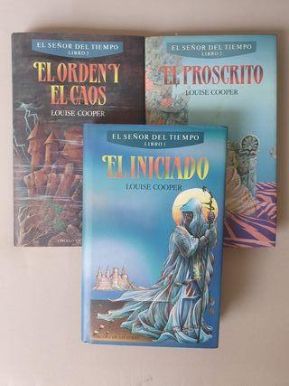 LIBROS TRILOGIA  LOUISE COOPER