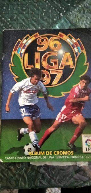 Álbum Liga 96-97
