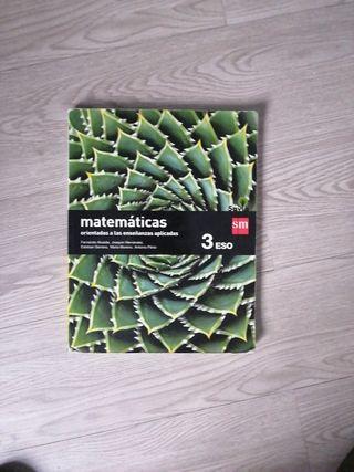 Libro matemáticas aplicadas 3°ESO SM