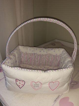 Cesta para pañales bebé