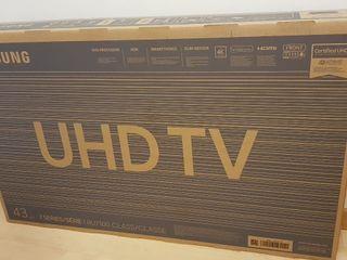 TV 43'(108cm) SAMSUNG 4K ultra HD RU7100