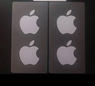 Pegatinas originales apple