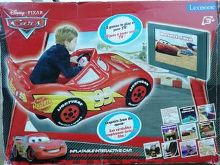 Videojuegos Cars + coche hinchable
