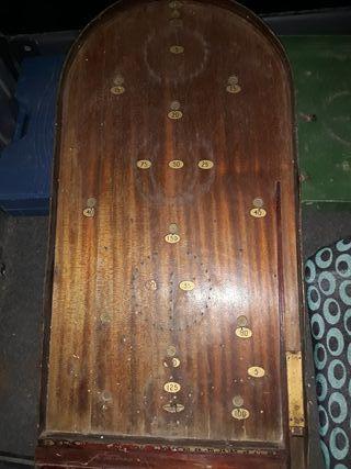 Lote 2 antiguos pinball de madera , muy antiguos