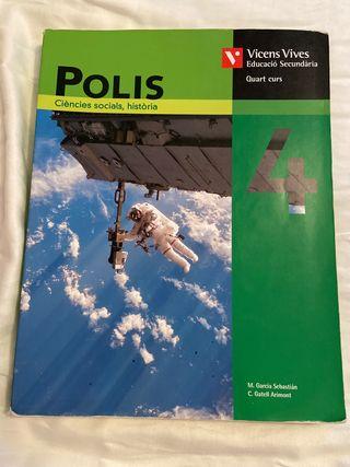 Polis Ciències socials, història 4 ESO