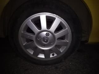 4 llantas 15 pulgadas con neumático