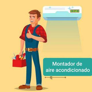 Montador aire acondicionado