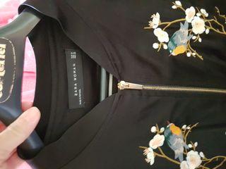chaqueta bordada Zara