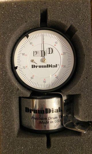 Afinador analogico para batería, DRUM DIAL