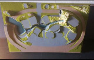 Maqueta diorama Noch 81590 Steigerwald H0