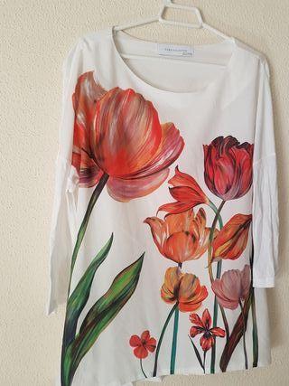 camisola talla M de zara