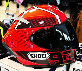 CASCO SHOEI X-SPIRIT 3 MARQUEZ 4 TC-1