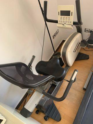 Bicicleta estática reclinable para espalda Tunturi