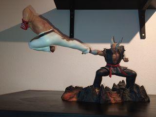 estatua diorama figuras Tekken 7