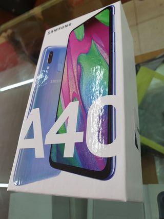 SAMSUNG A40 AZUO NUEVO SIN ABRIR
