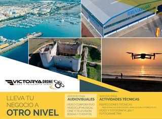 Especialistas en vídeo/fotografía aérea con drone.