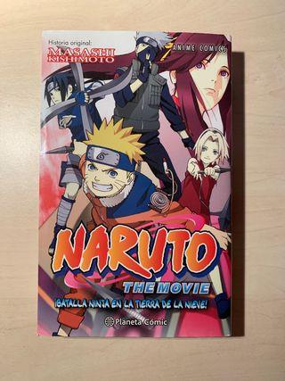 Naruto:the movie,batalla en la tierra de la nieve