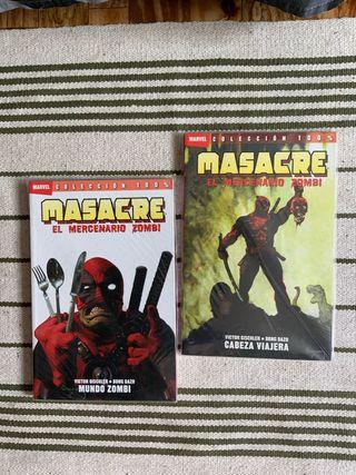 Cómics Deadpool/Masacre zombi NUEVOS