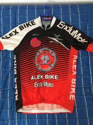Equipacion ciclismo maillot culotte