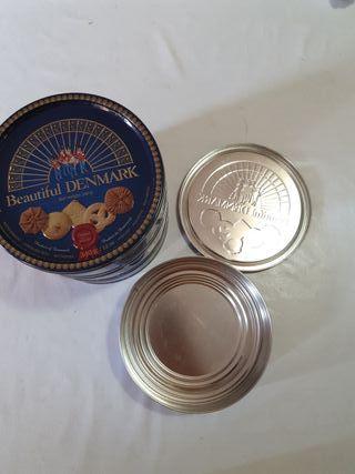 latas metalica galletas caja herramienta chapa