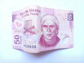 CINCUENTA PESOS MEXICANOS