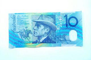 TEN DOLLARS of AUSTRALIA