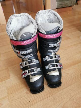 bota esquí salomon mujer