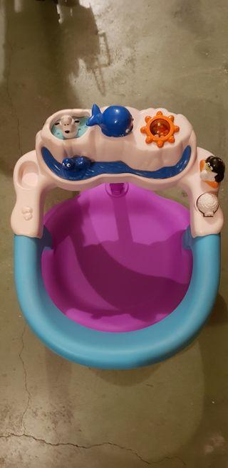 Silla de baño para bebe con juegos