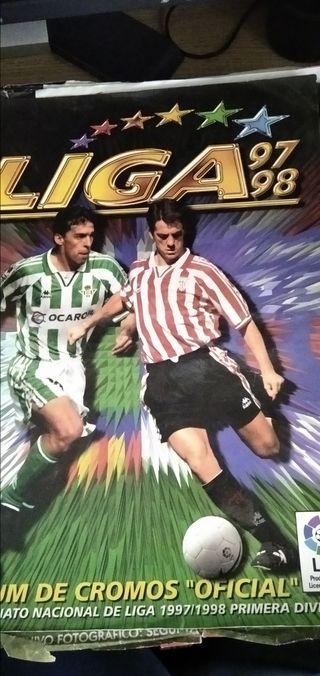 Álbum Liga 97-98