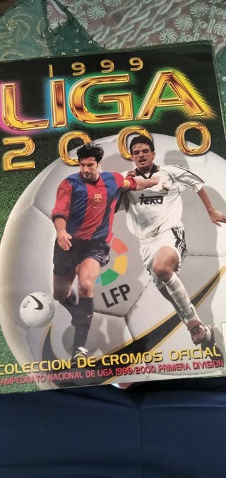 Álbum Liga 99-00
