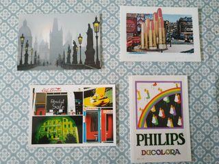 Postales Praga, Berlín, Londres
