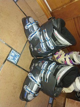 botas esquís hombre + botas esquís mujer