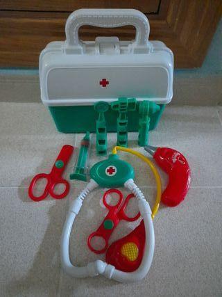 Maletín de médico juguete