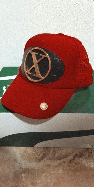 Gorra xtress (X) rojo