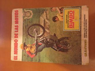 El mundo de las motos Album Cromos Completo