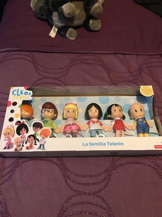 Muñecos Cleo y Cuquin