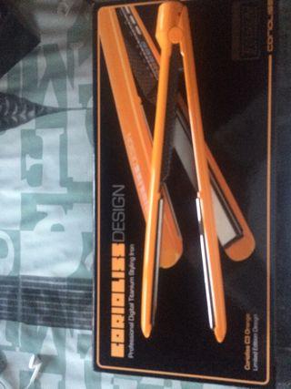 Plancha del pelo corioliss c3 (naranja)