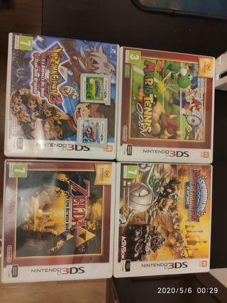 6 Juegos Nintendo 3Ds
