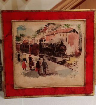 Ferrocarril antiguo Girona a Olot